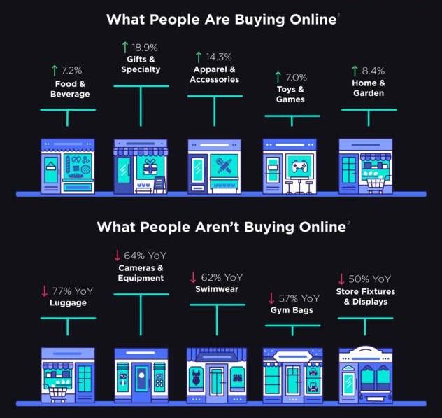 COVID-19 Ecommerce Infographic